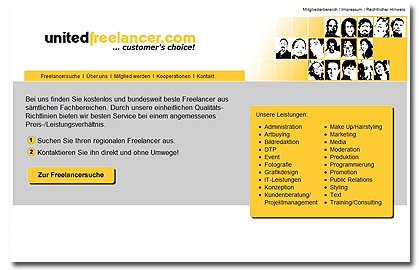 UnitedFreelancer... customer's choice!