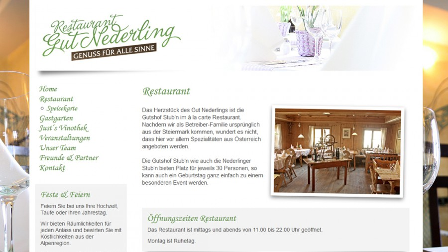 Restaurant Gut Nederling